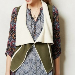 Saturday Sunday Quilted Darjeeling Green Vest
